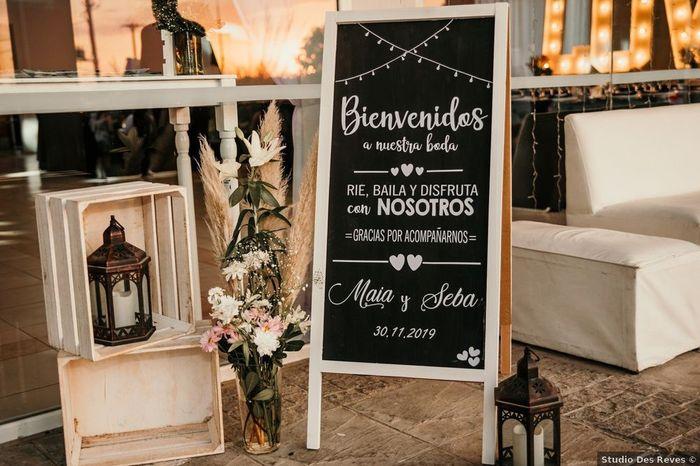 5 Ideas de decoración para un casamiento al aire libre 2