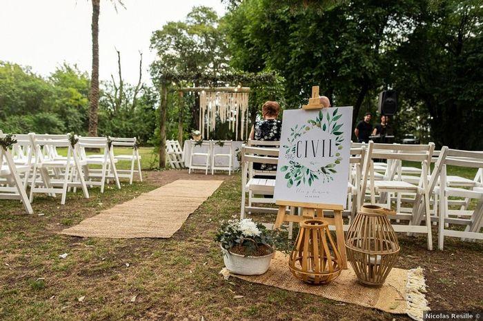 5 Ideas de decoración para un casamiento al aire libre 3