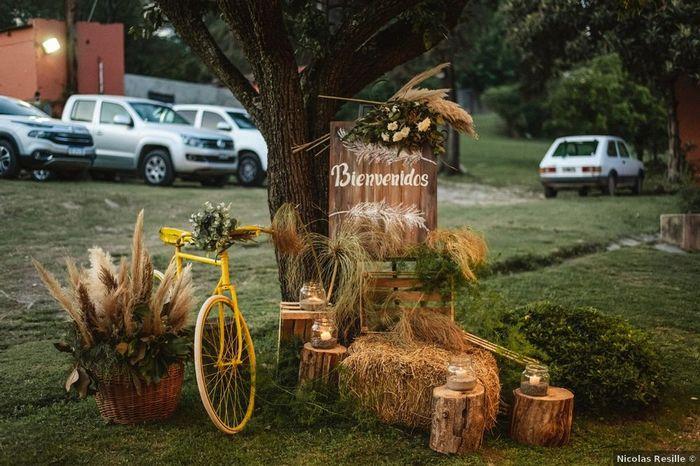 5 Ideas de decoración para un casamiento al aire libre 4