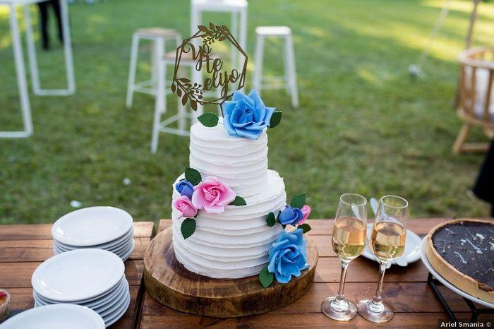 ¿Tienen pensado incluir torta de novios? 1
