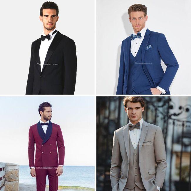 ¡Elegir el color del traje según el tono de piel!🤵 1