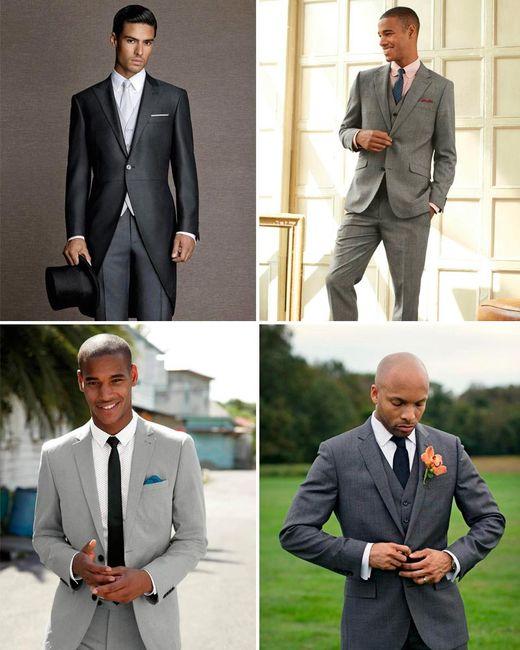 ¡Elegir el color del traje según el tono de piel!🤵 2