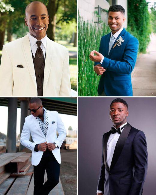 ¡Elegir el color del traje según el tono de piel!🤵 3