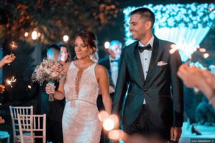 Clásico y elegante, así fue el casamiento de Gastón y Ale 😍 3