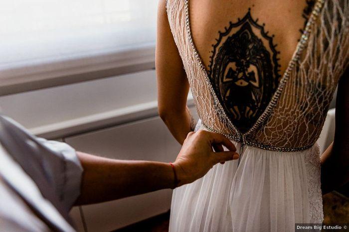 ¡NOVIAS CON TATUAJES!...¿lo van a lucir en su casamiento? 1