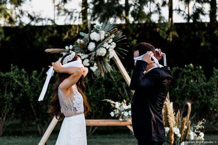 """""""El novio no puede ver a la novia antes"""": ¿Verdad o Mito? 1"""
