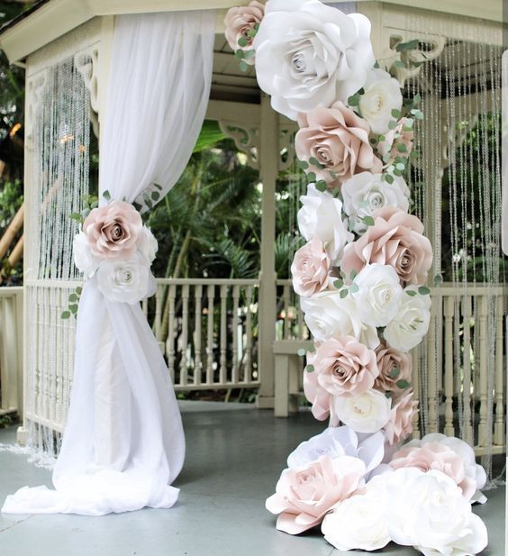 """5 Ideas para decorar tu casamiento con los """"Moldes Florales"""" de Casamientos.com.ar 2"""