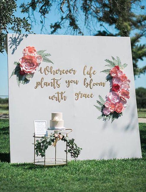 """5 Ideas para decorar tu casamiento con los """"Moldes Florales"""" de Casamientos.com.ar 4"""
