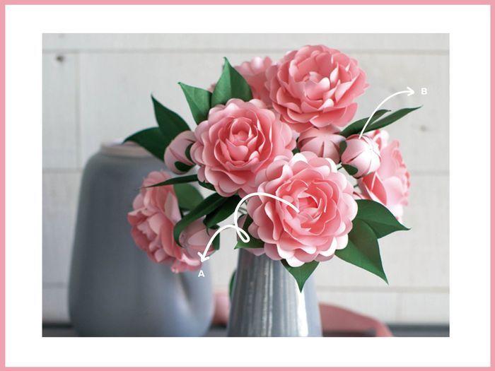 """5 Ideas para decorar tu casamiento con los """"Moldes Florales"""" de Casamientos.com.ar 5"""