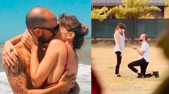 ¡Abel Pintos le propuso casamiento a su novia el día de los Enamorados!💘 1