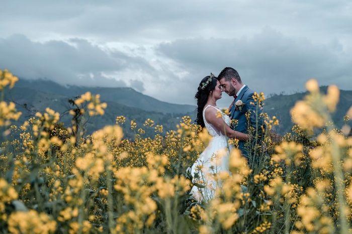 Nos casamos en _____ 1