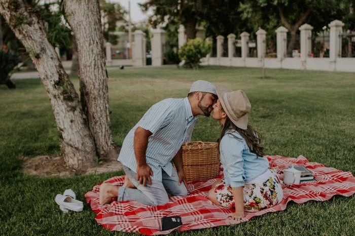 ¿Tendrían una cita romántica el día antes del casorio? 1