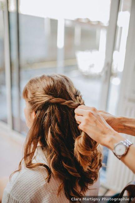 ¡PRACTICA este peinado en 4 pasos! 👇 2