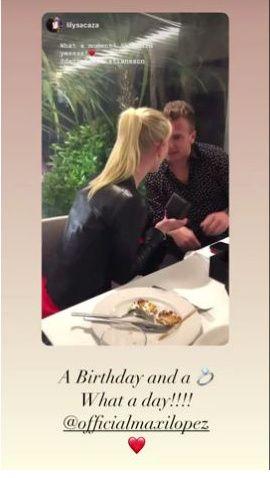 ¡Maxi López le propuso casamiento a su novia para su cumple! 3