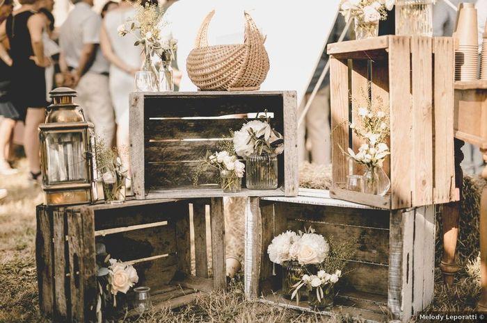 4 Formas de ambientar tu casamiento con cajones reciclados - 2