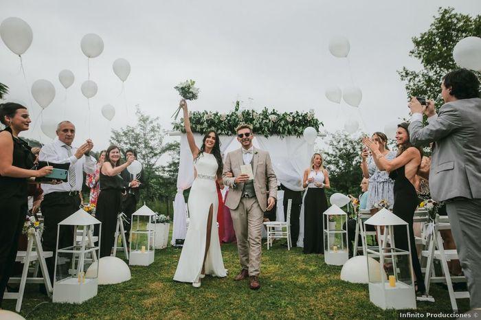 VS nupcial: ¿casamiento pequeño, mediano o grande? 1