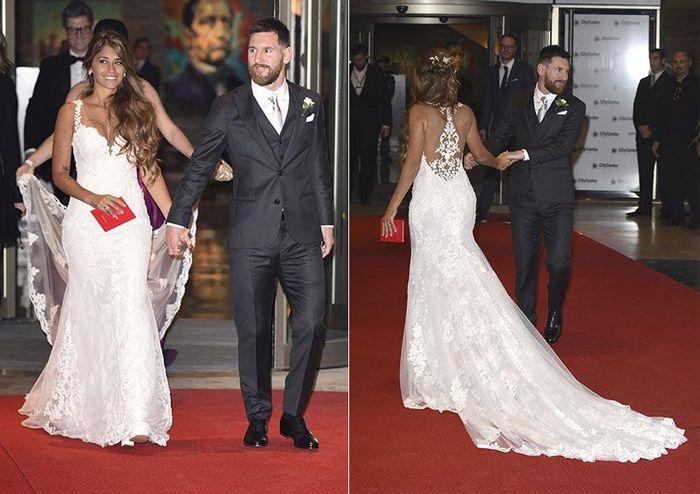 Antonela publicó un video inédito de su boda con Messi para celebrar su cuarto aniversario 👇 1