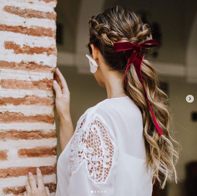 Peinados con cintas: ¡DI-VI-NO! 1