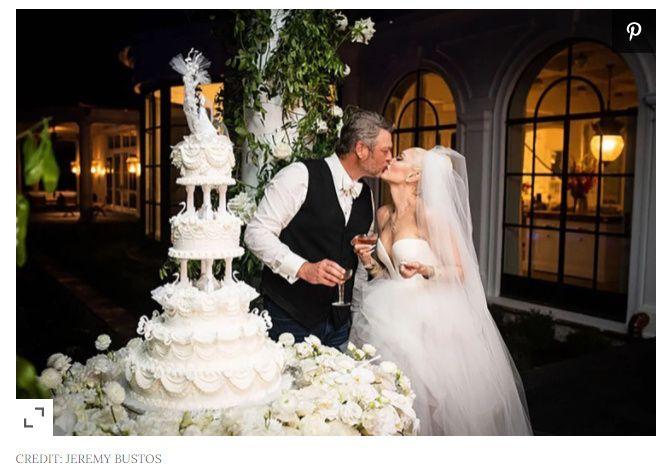 Gwen Stefani and Blake Shelton se casaron ASÍ👇 2