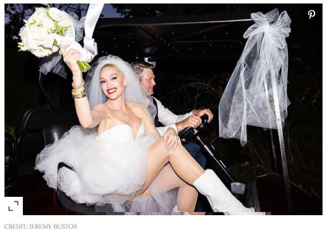 Gwen Stefani and Blake Shelton se casaron ASÍ👇 3