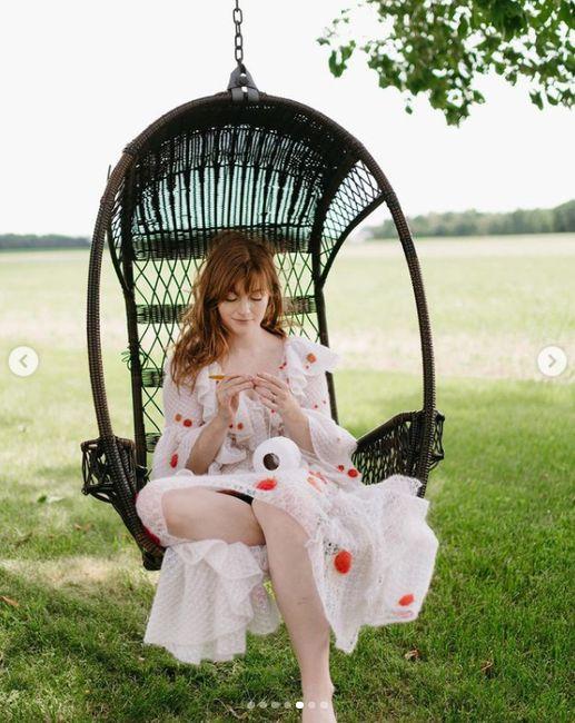 Esta novia se tejió su propio vestido: 🧶 ¿Qué nota le ponés? 2