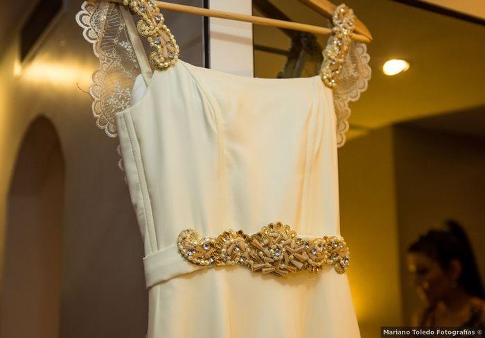 ¿Vas a incluir cinturón en tu vestido de novia? 1