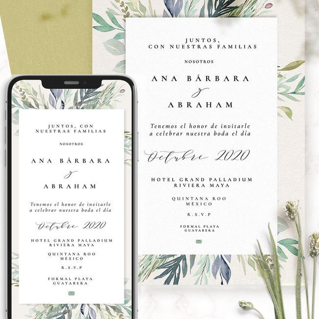 Las invitaciones: ¿Las tengo o no las tengo? 1