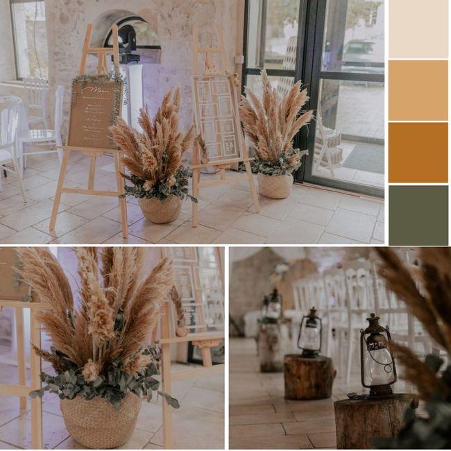 ¿Qué te parece esta deco interna y colores para tu casamiento? 5