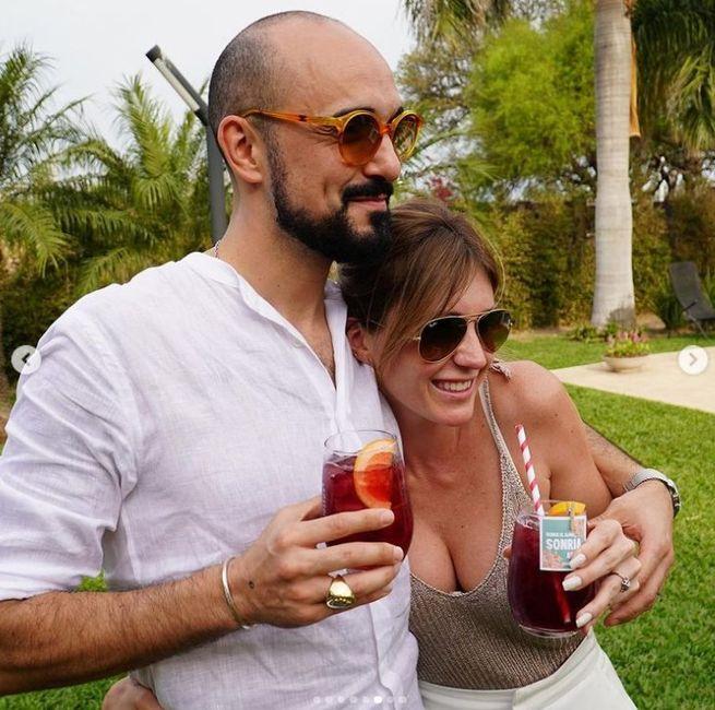 Abel Pintos y Mora Calabrese se casaron por civil ASÍ 👇 5