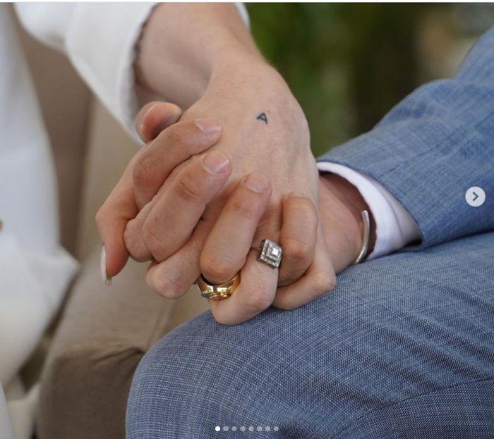 Abel Pintos y Mora Calabrese se casaron por civil ASÍ 👇 1