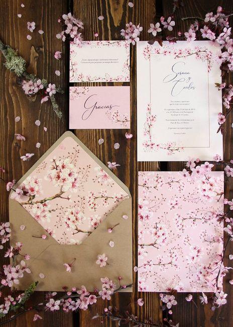 5 Ideas para que el cerezo sea la flor de tu casamiento 🌸 1