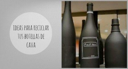 Reciclá tus botellas de champagne 1
