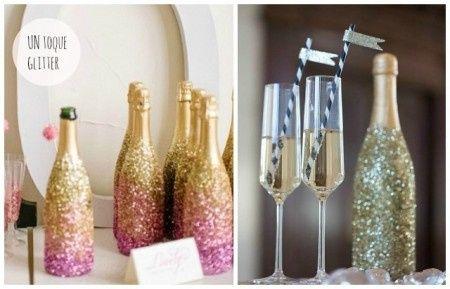 Reciclá tus botellas de champagne 2