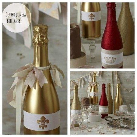 Reciclá tus botellas de champagne 3