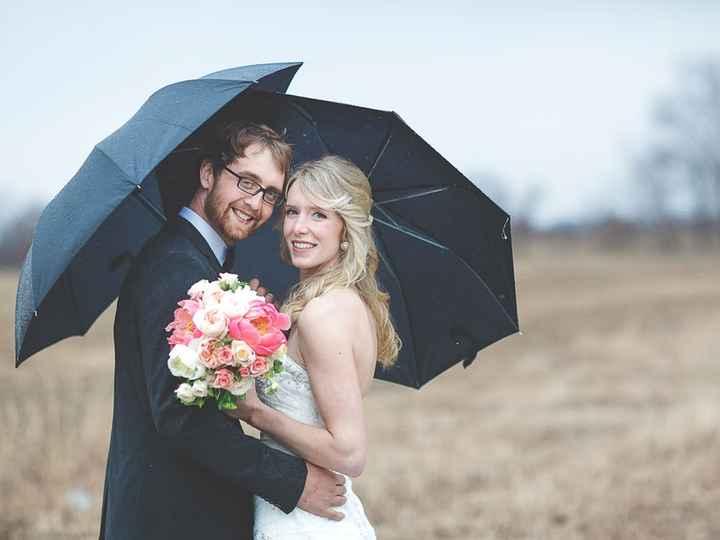 Paraguas para casamiento