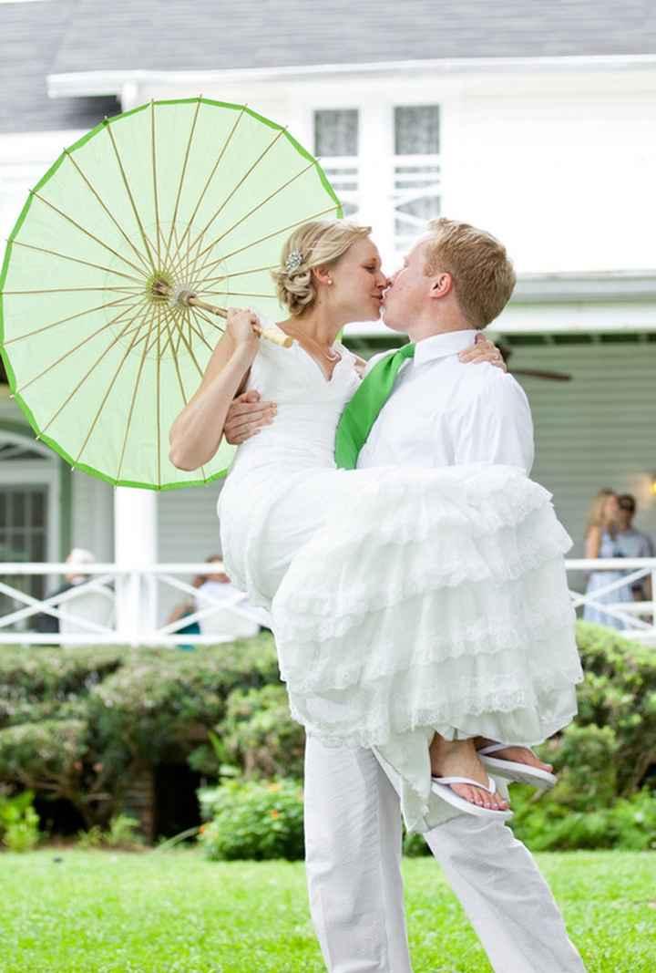 Paraguas de casamiento
