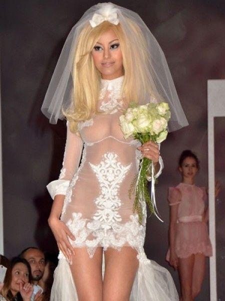 Vestidos novia raros