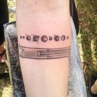 Este es el tatuaje que me hice el ultimo día de la Conve