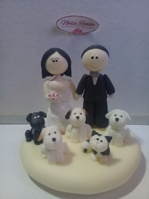 ¡A este cake topper le doy un ❤️! 1
