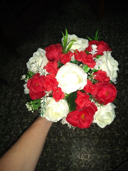Ramo flores de tela o naturales? 4