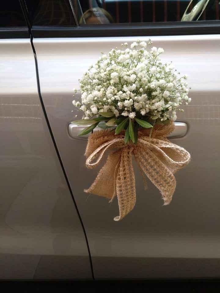 Ideas para decorar el auto el día de la boda - 8
