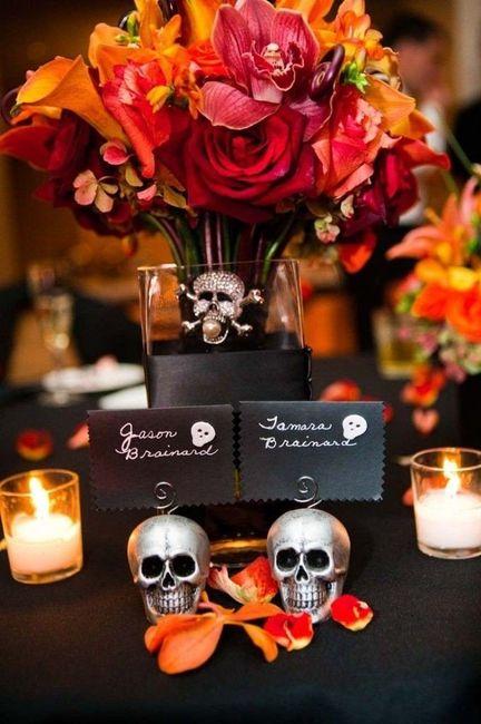 Ideas: boda temática terror 1