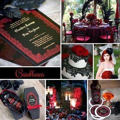Ideas: boda temática terror 2