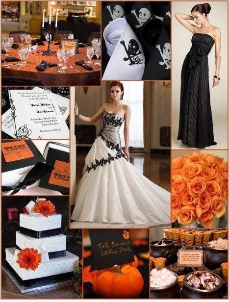 Ideas: boda temática terror 3