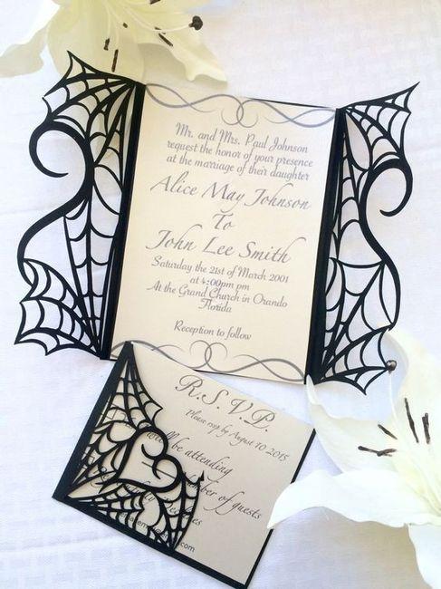 Ideas: boda temática terror 5