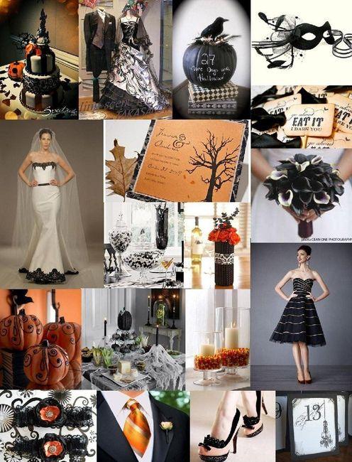 Ideas: boda temática terror 6