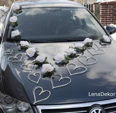 Ideas para decorar el auto el día de la boda 13