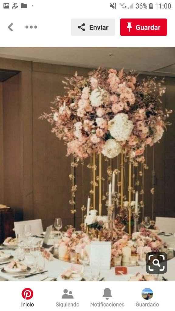 Centros de mesa en el mes rosa - 3