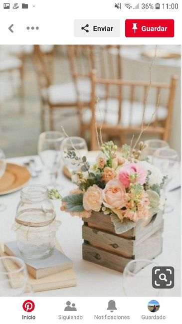 Centros de mesa en el mes rosa 5