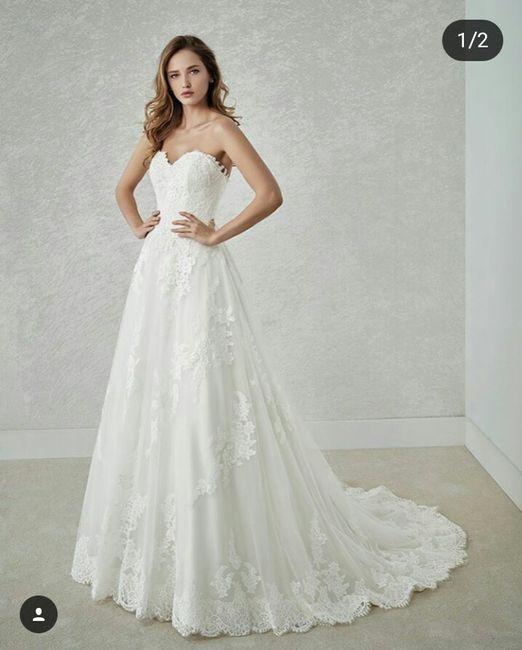 vestido de novia con o sin cola?